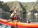 kayak fishing mull of galloway