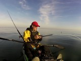 Light lure rod kayak fishing