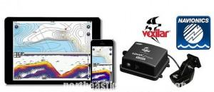 Sonar Phone Fishfinder and Marine Charts