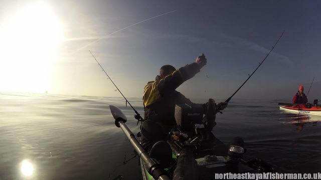 Kayak Fishing Cod 2 Blyth