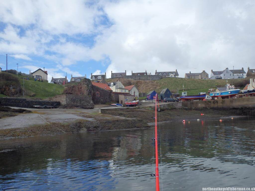 Launching Kayak - St Abbs, Scotland