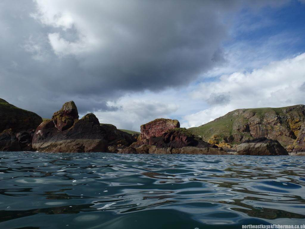 Kayak Fishing Scotland - St Abbs Head