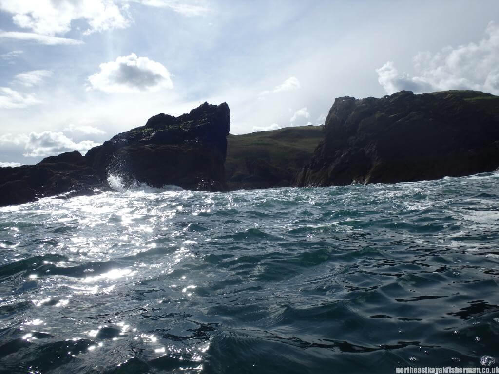 Kayak Fishing St Abbs Head