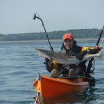 Kayak Fishing Tope Mull of Galloway