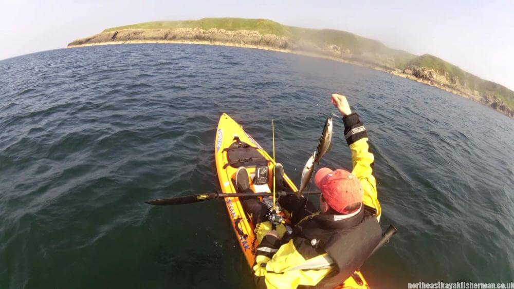 Kayak Fishing Pollock - Mull of Galloway