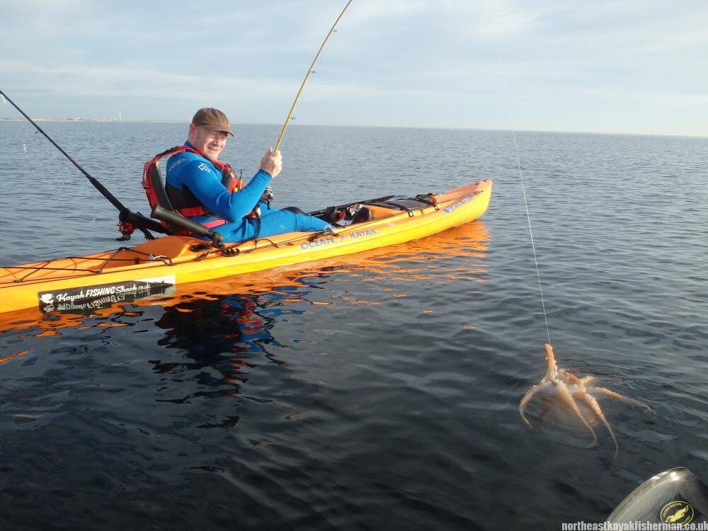 Kayak Fishing Octopus